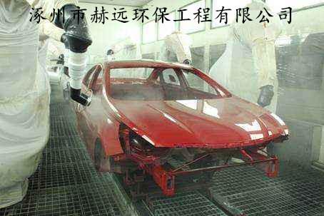 汽车生产废气处理领域