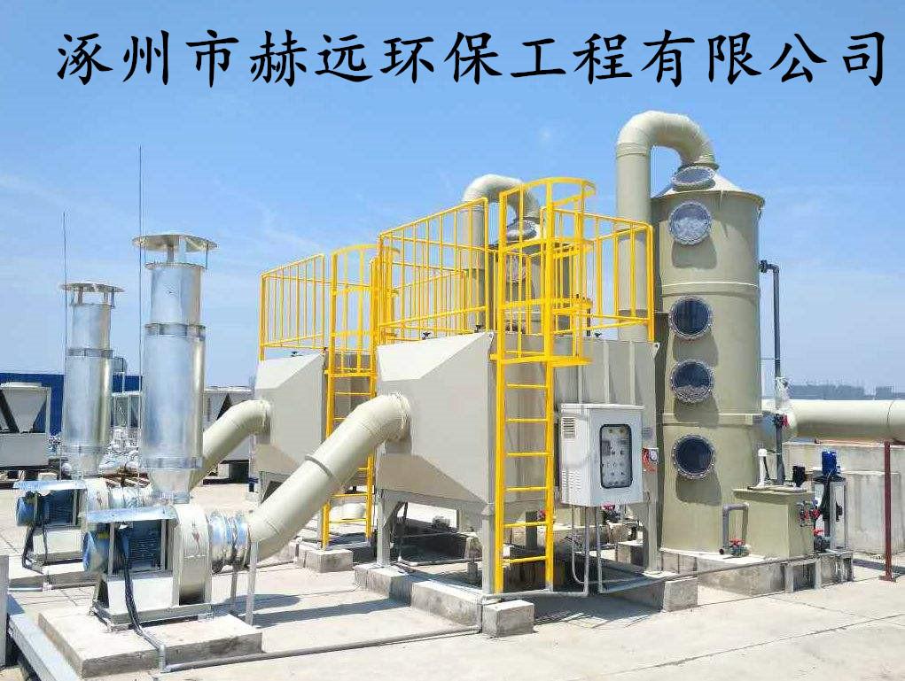 医药化工行业溶剂废气处理领域