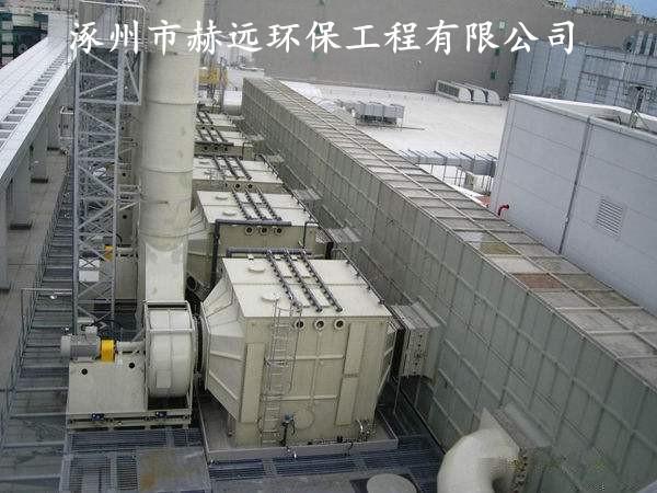 化工厂废气处理领域