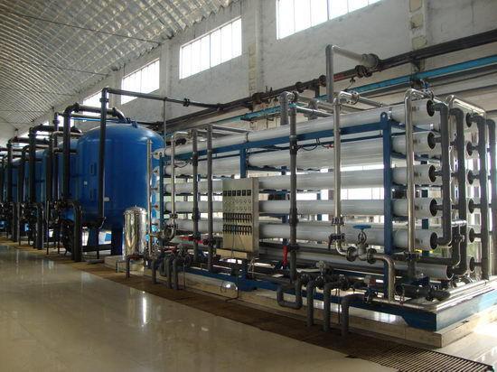 电厂水处理领域